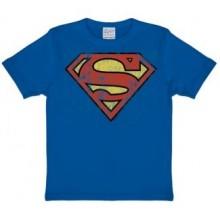 Superman Logo Lasten T-Paita Sininen