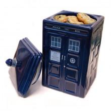 Doctor Who Tardis Keraaminen Keksipurkki