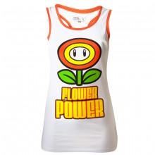 Nintendo Flower Power Naisten Hihaton Paita
