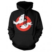 Ghostbusters Distressed Logo Huppari Musta