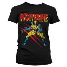 Wolverine Scratches Naisten T-Paita Musta