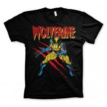 Wolverine Scratches T-Paita Musta