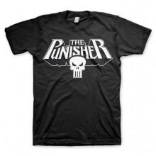 The Punisher Logo T-Paita Musta
