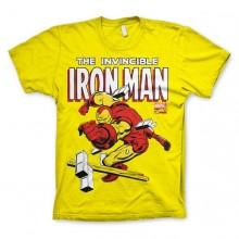 The Invincible Iron Man T-Paita Keltainen