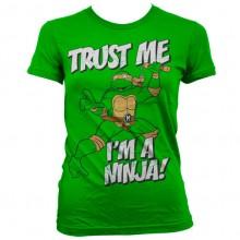 TMNT - Trust Me, I´m A Ninja Naisten T-Paita Vihreä