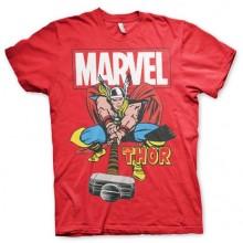The Mighty Thor T-Paita Punainen