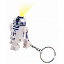 Star Wars R2-D2 Avaimenperä Taskulampulla