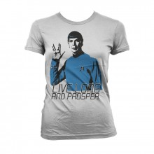 Star Trek - Live Long And Prosper Naisten T-Paita