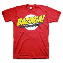 Bazinga Super Logo T-Paita