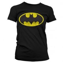 Batman Distressed Naisten T-paita