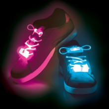 Loistavat LED Kengännauhat