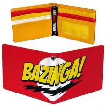 Big Bang Theory Bazinga Lompakko