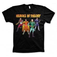 The Big Bang Theory - Heroes In Theory T-Paita