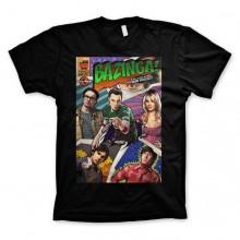 Big Bang Theory - Bazinga Comic Cover T-Paita