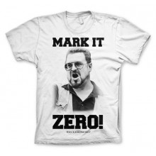 Big Lebowski Mark It Zero T-Paita