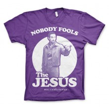 Big Lebowski Nobody Fools The Jesus T-Paita