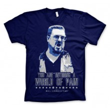 Big Lebowski World Of Pain T-Paita