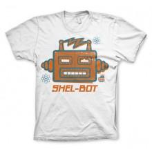 The Big Bang Shel-Bot T-paita