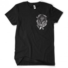 Sons Of Anarchy Backpatch T-Paita