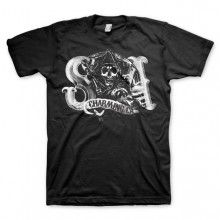 Sons Of Anarchy SOA Charming Reaper T-Paita