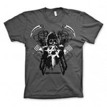 Sons Of Anarchy SOA Engine Reaper T-Paita