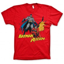 Batman & Robin T-Paita
