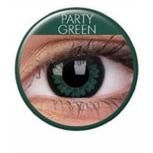 Värilliset linssit big eyes party green