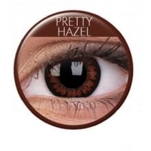 Värilliset linssit big eyes pretty hazel