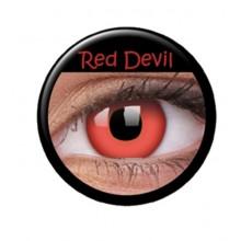 Värilliset linssit crazy red devil