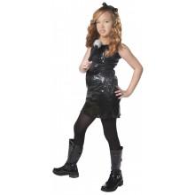 Rock-TyttÖ Lasten Naamiaisasu