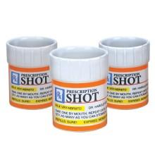 Shottilasi Tablettipurkit 3 Kpl