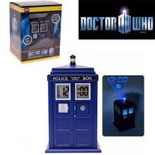 Doctor Who - Tardis Herätyskello Lampulla