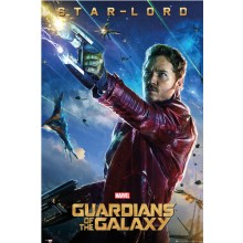 GUARDIANS OF THE GALAXY STAR LORD JULISTE
