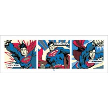 SUPERMAN (POP ART) 95X33 JULISTE