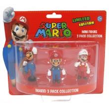 Nintendo Pienoishahmot Mario 3-Pakkaus