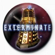DOCTOR WHO - EXTERMINATE (DALEK) RINTAMERKKI