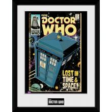 Doctor Who Kehystetty Juliste Tardis