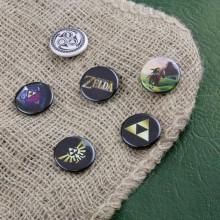 Zelda Badges 6 Pakkaus