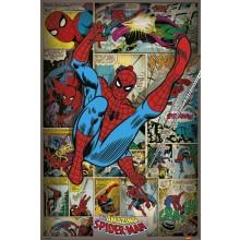Marvel Comics (Spindelmannen Retro) Juliste