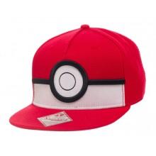 Pokemon 3D Pokeball Snapback