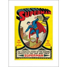SUPERMAN (NO1) 60X80 JULISTE
