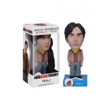 The Big Bang Theory Wacky Wobbler Bobble-Head Raj 15cm