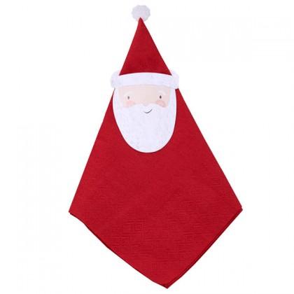 Servetter Jultomten 12-pack
