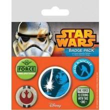 Star Wars Rintamerkit Jedi 5-Pakkaus
