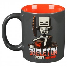 Minecraft Skeleton Jockey -muki