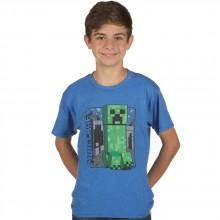 Minecraft Vintage Creeper Lasten T-paita