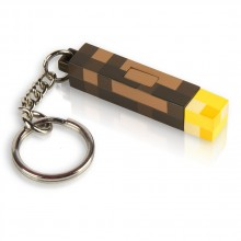Minecraft 3D Torch Taskulamppu