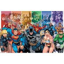 Justice League Sukupolvet Juliste