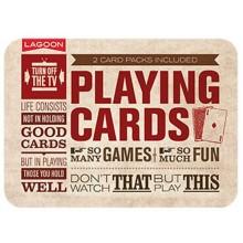 Korttipakka 2-Pakkaus