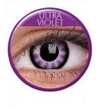 Värilliset linssit big eyes ultra violet
